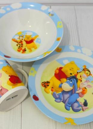 Детский набор посуды вини пух