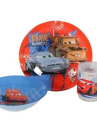 Детский набор посуды luminarc тачки маквин