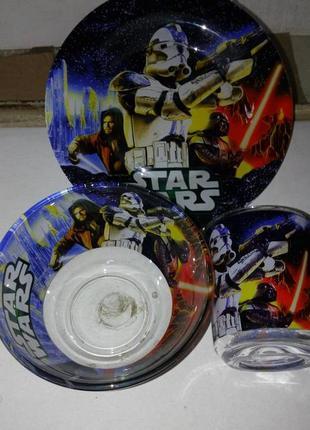 Детский набор посуды звёздные войны, star wars