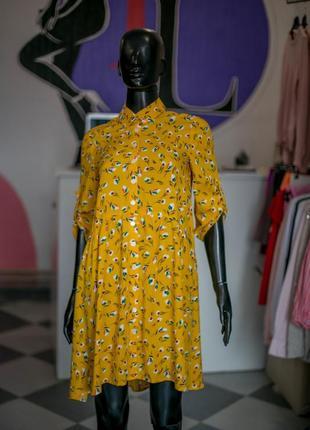 Вискозное легкое платье оверсайз на пуговицах от wearme