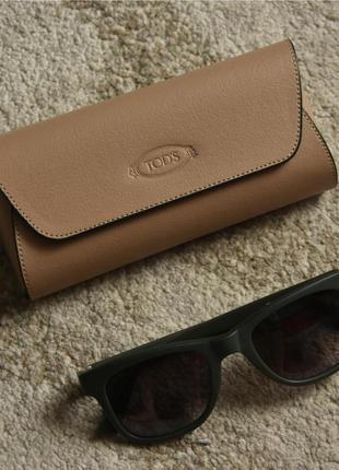 Tods (tod's) - khaki to164 94b wayfarer sunglasses имиджевые солнцезащитные очки