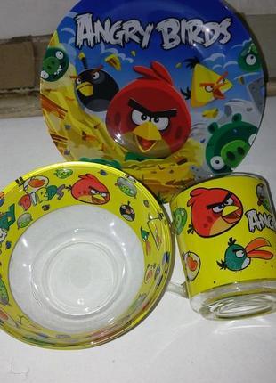 Детский набор посуды энгрибертс