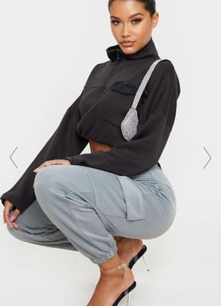 Джоггеры джогеры спортивные летние карго брюки штаны с накладными карманами