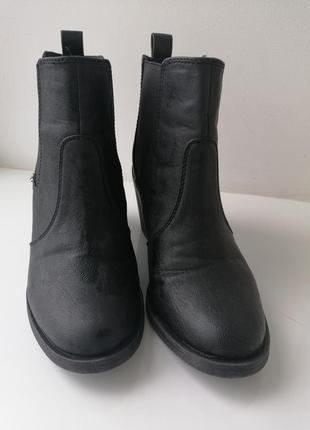 Ботинки высокий каблук h&m