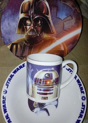 Детский набор посуды звёздные войны star wars