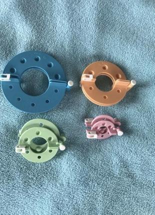Набор устройство приспособление для изготовления помпонов/бубонов