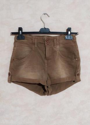 Стильные шорты с высокой талией, 27-28, topshop