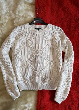 Скидка дня молочный джемпер свитер mango