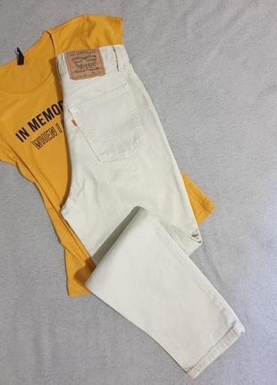 Джинсы levi's original / плотные джинсы/ джинсы mom / джинсы высокая посадка/ levi's