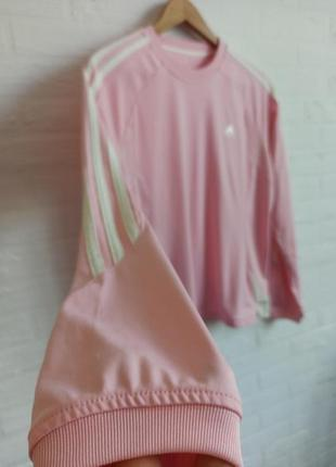 Кофта розовая adidas originals pink new! l m