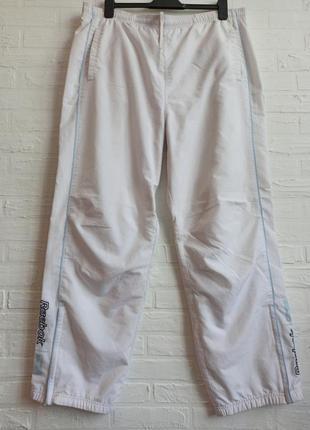 Спортивные белые штаны брюки reebok xxl 2xl