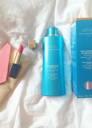 Institut esthederm prolongateur de bronzage tan prolonging body lotion