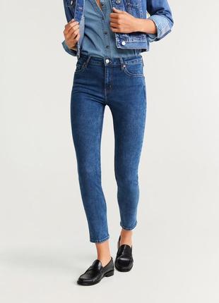 Скульптурирующие джинсы скинни, skinny mango