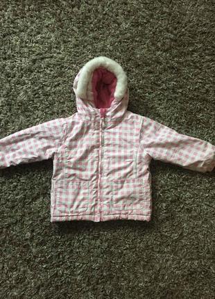 Курточка зимняя девочке от года ( 12-18 мес)