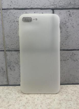 Силиконовый чехол для iphone 7 plus , 8 plus