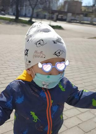 Детская многоразовая маска для лица