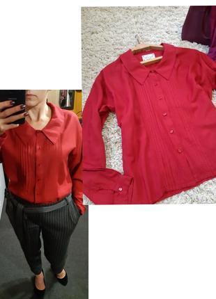 Стильная вискозовая блуза, chick&grazy, p. m-l