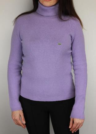 Шерстяной гольф свитер