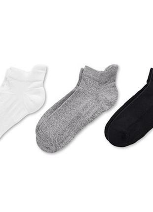 Носки, спортивные, беговые, профессиональные, белые, tcm tchibo, размер 39-42