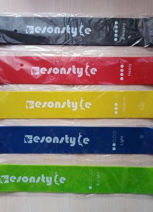 Комплект резинок для фитнеса esonstyle
