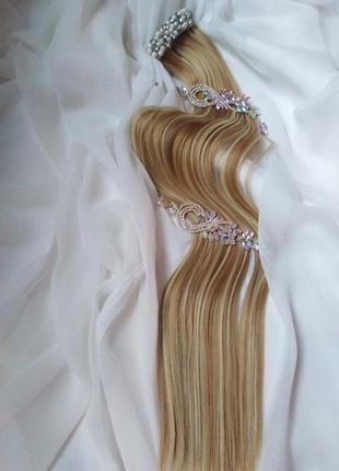 Волосы для наращивания, трессы, накладные волосы