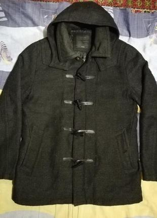 Мужское демисезонное пальто дафлкот colins