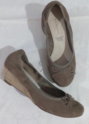 Замшеві зручні туфлі на кожен день 5th avenue