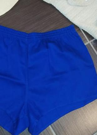 Синие трусы шорты для бега allround brazillia