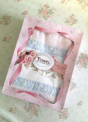 Большое махровое полотенце (банное), рушник