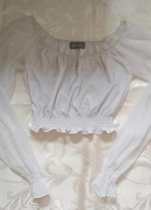 Топ, укороченная блуза