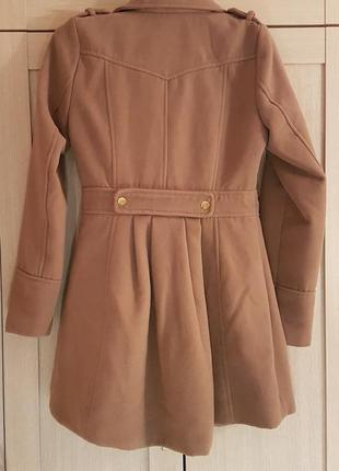 Демисезонное пальто верблюжьего цвета3