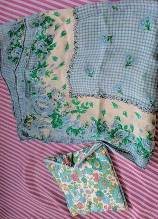 Винтажные аксессуары платочек+сумочка