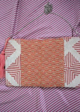 Сумка текстиль орнамент c&a