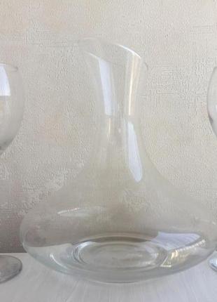 Набор для вина декантер бокалы spiegelau