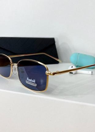 Женские очки 😎 в тонкой оправе с тонкими золотыми дужками