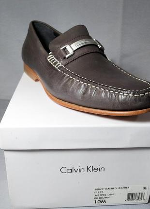 Мужские туфли лоферы calvin klein bruce