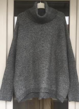 Mango стильный свитер оверсайз м-л