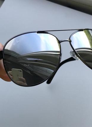 Очки солнцезащитные зеркальные