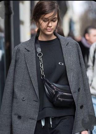 Фирменный стильный качественный натуральный шерстяной пиджак в клетку