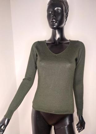 Пуловер свитер шерсть шелк кашемир hawico