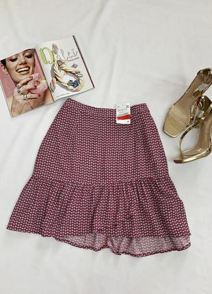 Распродажа! стильная легкая юбка