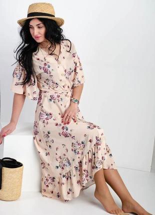 Женское платье из софта