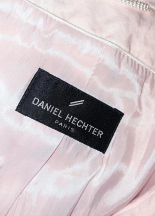 1+1=3 стильный розовый пиджак с карманами daniel hechter, размер 46 - 489 фото