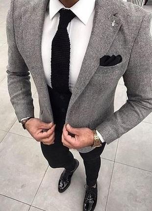 Стильный пиджак zara casual