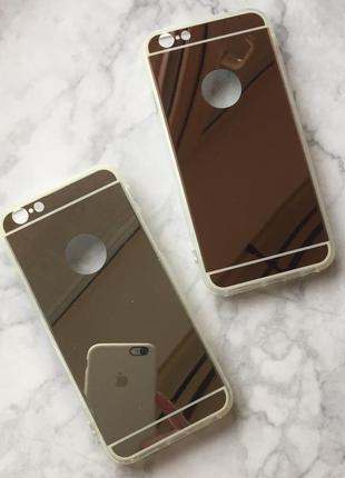 Продам новые зеркальные чехлы на iphone 6/6s