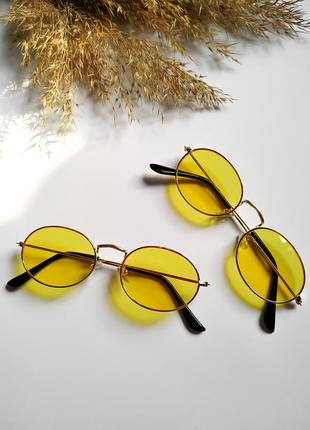 Солнцезащитные очки/ желтые линзы