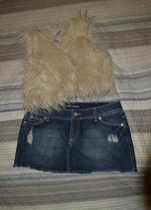 Милая джинсовая юбченка от hous of denim