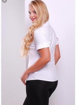 Новая белая женская рубашка большого размера bhs
