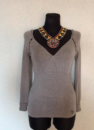 #блузка#трикотаж#кофточка#morgan#10р наш 44 цена 100грн.