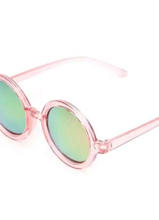 Уценка! солнцезащитные женские круглые зеркальные очки линзы хамелеоны тишейды гранды